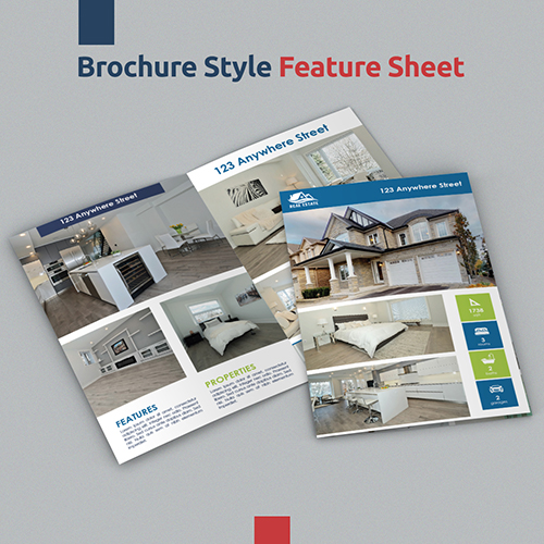 Brochure Style Feature Sheet