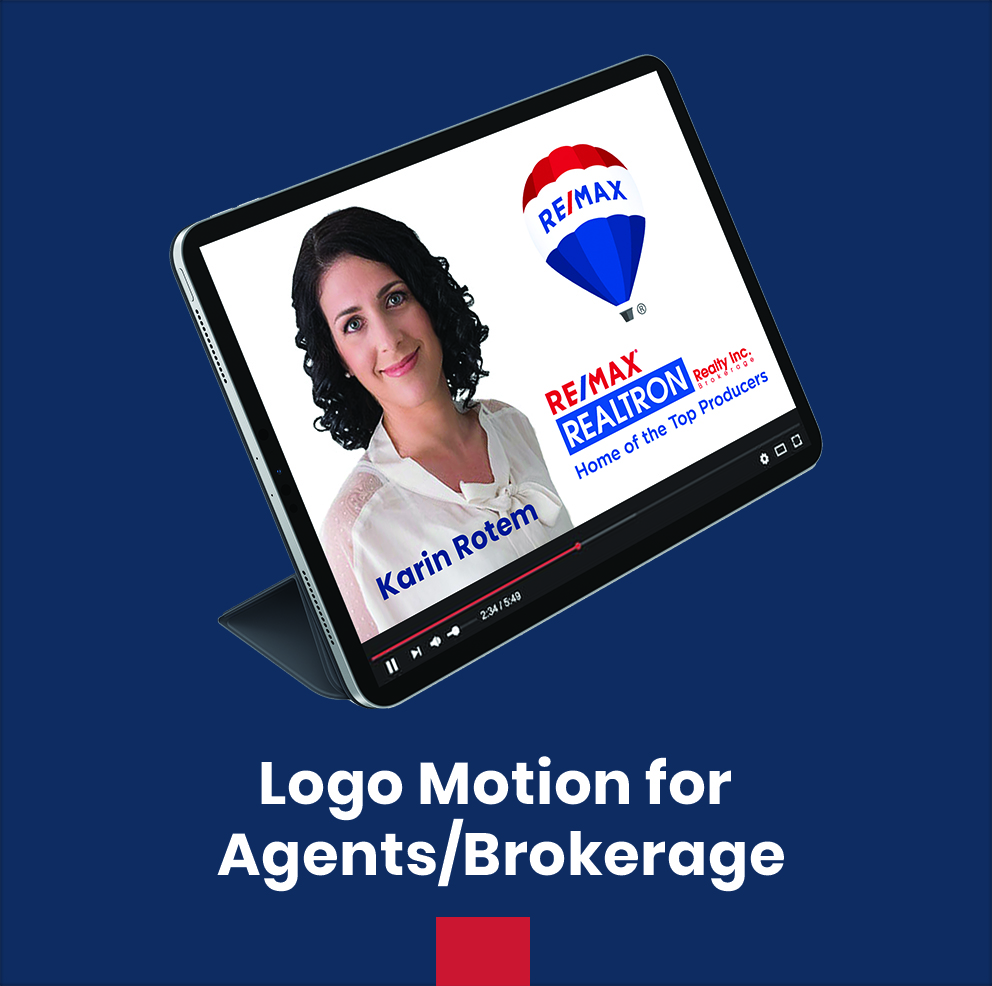 Logo Motion for Agents/Brokerage