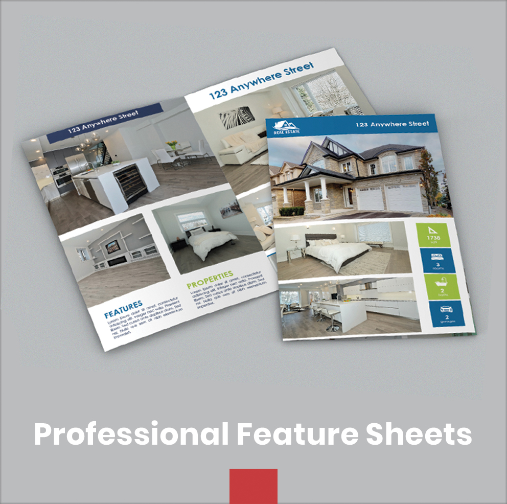 Professional Feature Sheets